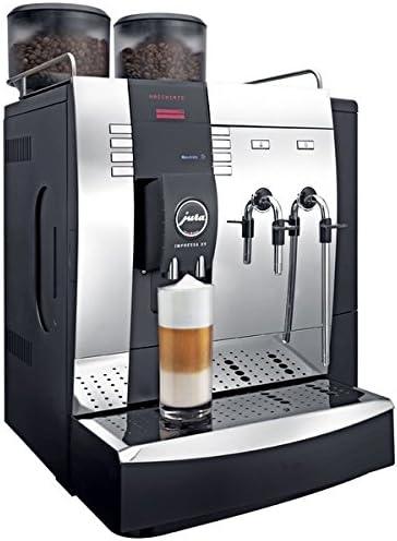Jura Impressa X9 Chrome - Cafetera (Espresso machine, Granos de ...