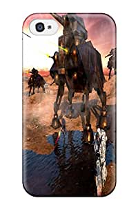 New Cute Funny Star Wars Attack Clones Case Cover/ Iphone 4/4s Case Cover