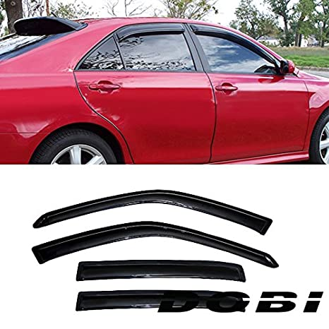 4X  Window Visor Rain Sun Guard Vent Shade For Nissan Maxima 2009 2010 2011-2014