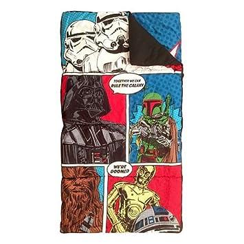 Disney Star Wars niños carácter saco de dormir y Sling saco: Amazon.es: Hogar