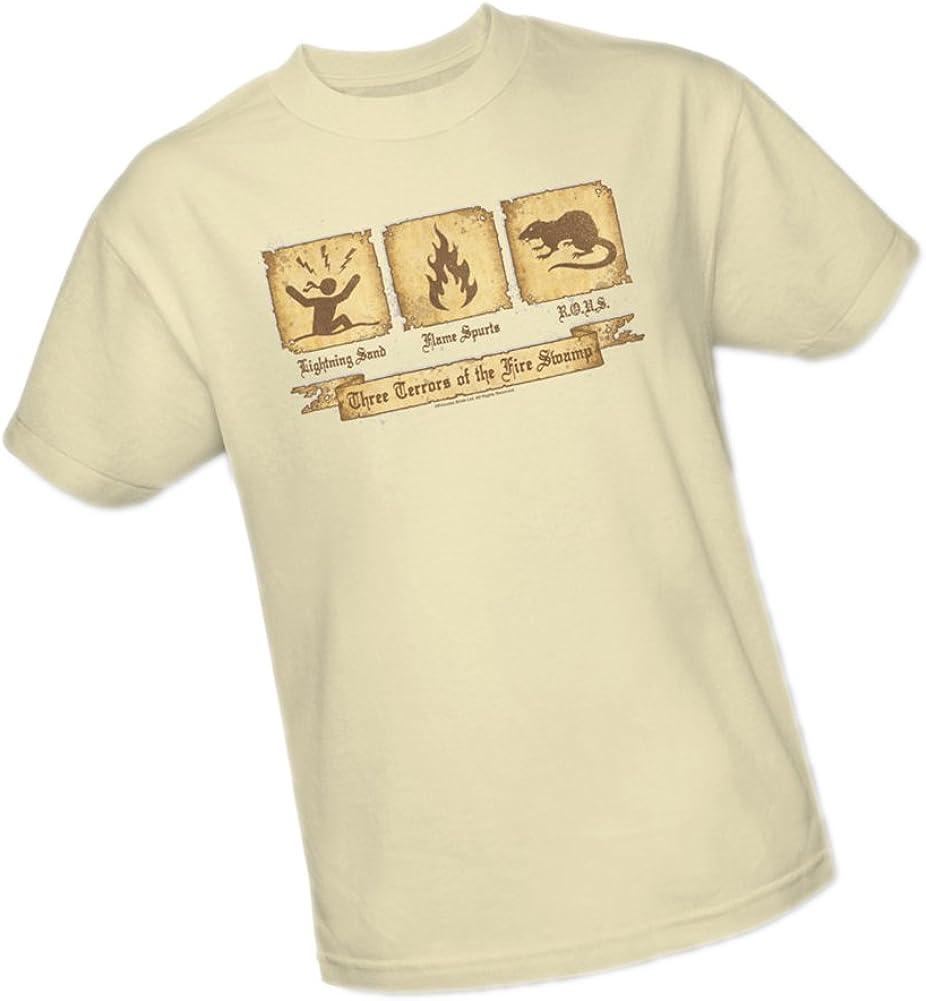 Princess Bride Movie THREE TERRORS Licensed Juniors Cap Sleeve T-Shirt