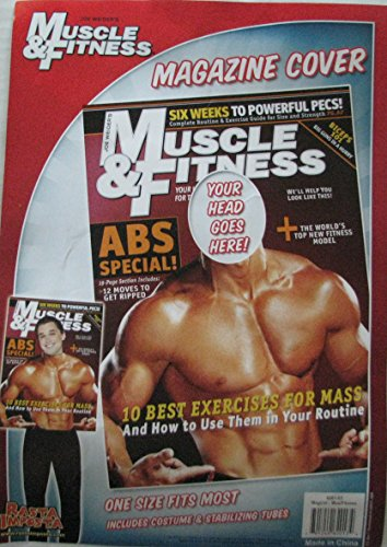 Muscle & Fitness Body Builder Costume (Body Builder Costume)