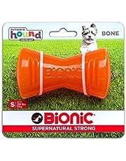 Outward Hound Bone SM Orange Dog Toy