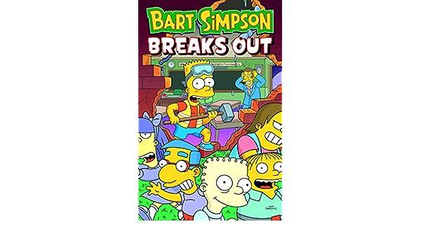 Amazon.com: Bart Simpson - Breaks Out (9781789091953): Matt ...