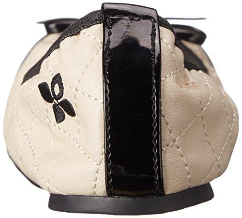 ballet Blanc Cassé Cream White Zapatillas mujer TwistsOlivia Butterfly Off de wXtRP1q
