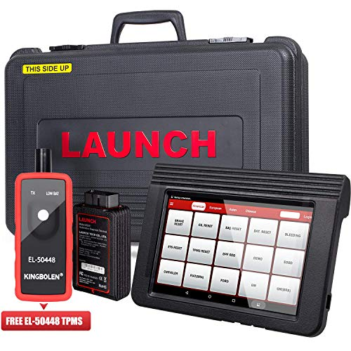 LAUNCH X431 V PRO WiFi/Bluetooth OBD2 Scanner Auto Full System Diagnostic Tool Support ECU Coding,Actuation Test,Remote Diagnostic,Reset Functions Free Online Update+EL-50448 TPMS as Gift