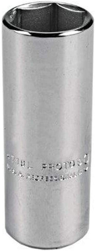 Stanley J5344H Proto 6 Point 1//2-Inch Drive Deep Socket 1-3//8-Inch