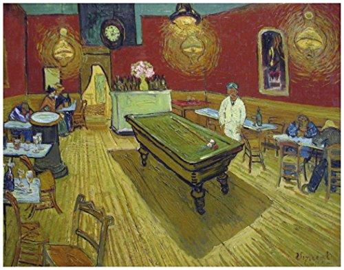 (THE NIGHT CAFE: Van Gogh ~ Art Print. (11