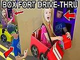 Box Fort Drive Thru Driving Cardboard Box Cars Gone Wrong