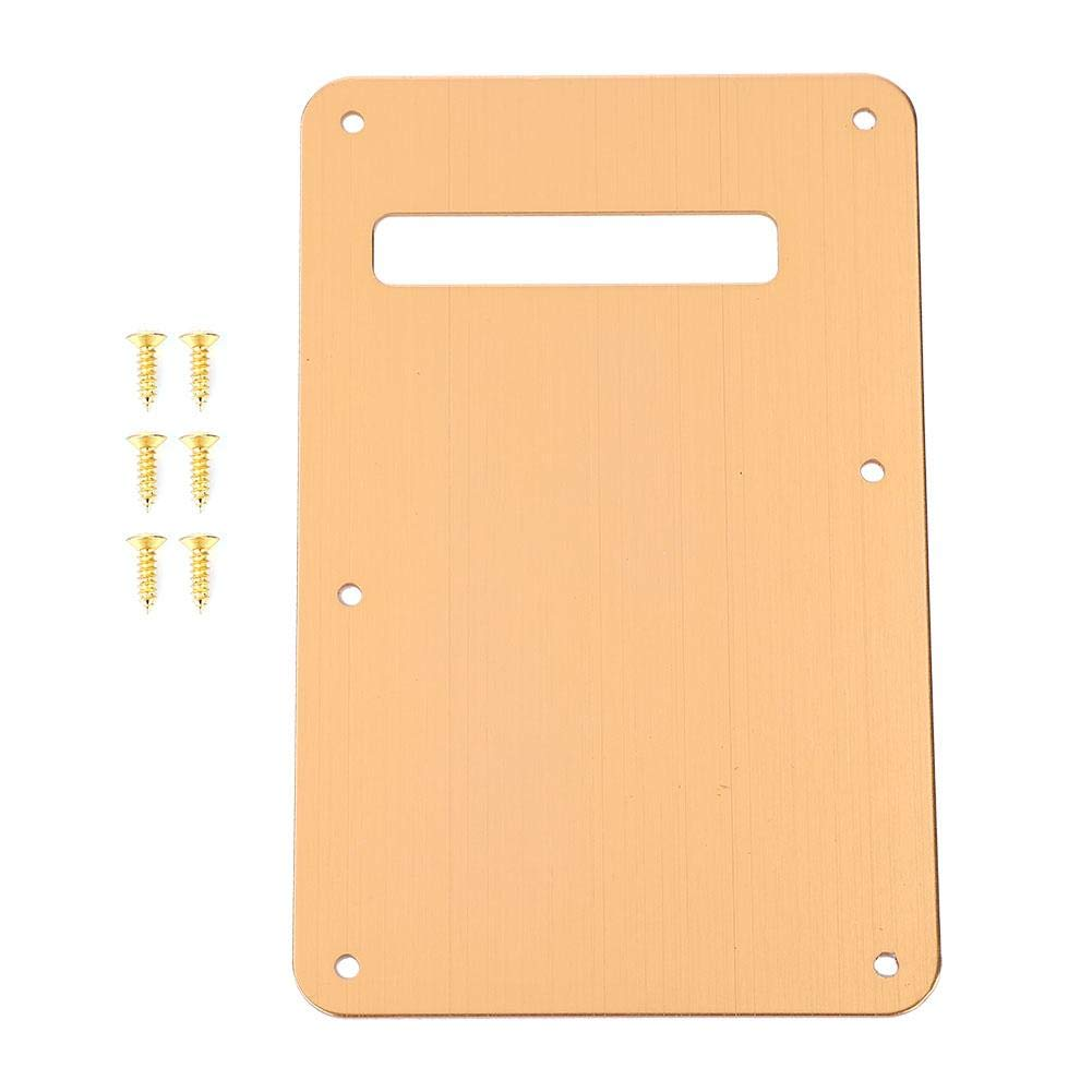 Guitar Back Plate, ST Style Guitar Pickguard Tremolo Cavity Cover