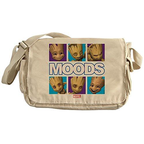 CafePress - GOTG Groot Moods - Unique Messenger Bag, Canvas Courier Bag by CafePress