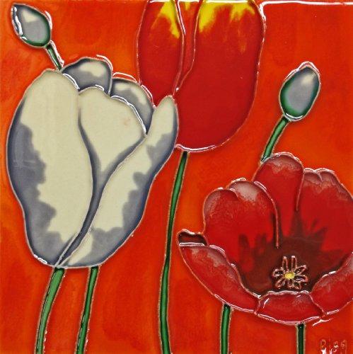 Flower Tile Background - 2