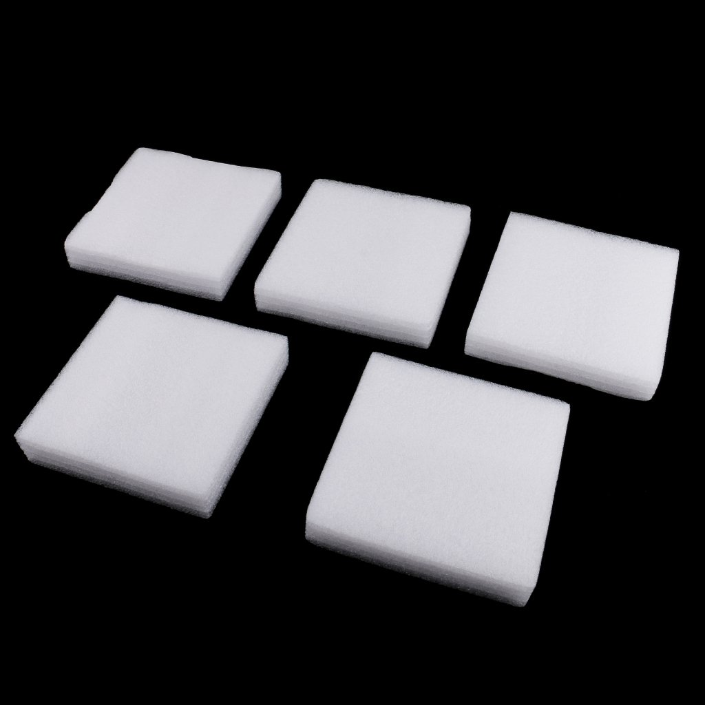 Fityle 5 Pieces Foam Needle Felting Pad Mat Wool Felt Accessories Sewing Tool for DIY Crafts 12x12mm