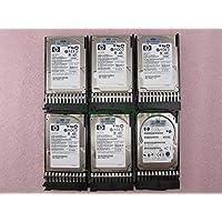 Lot of 6 HP 146GB SAS 10K 2.5 Hard Drive 432320-001 Seagate ST9146802SS + Caddy