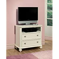 ACME Athena White TV Console