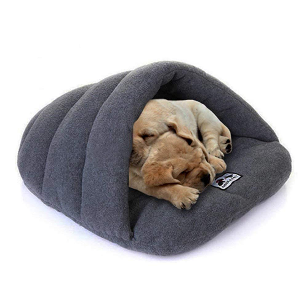 Egurs Pets Sleep Zone Cuddle Cave Cama para Mascotas para Perros Gato Conejo Mediana y pequeña Mascotas Nido Gery XS: Amazon.es: Hogar