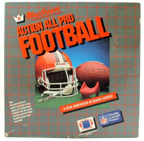nfl all pro football board game - 2