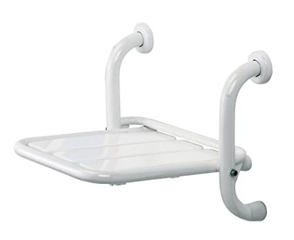 Sedile Doccia Disabili Ribaltabile : Thermomat srd i b sedile ribaltabile doccia da fissare a muro
