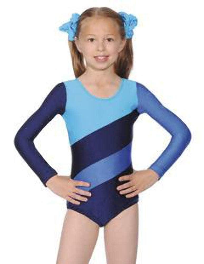 Roch Valley Three Tone Gymnastics or Dance Leotard HOP