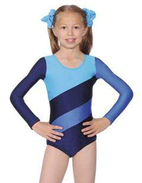 032188147427 Three Tone Gymnastics or Dance Leotard by Roch Valley - HOP (7-8 ...