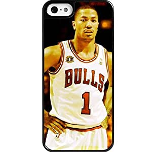 Custom Personalized NBA Chicago Bulls Team StDerrick Rose Case For Samsung Galaxy S5 Cover Case,Case For Samsung Galaxy S5 Cover Case