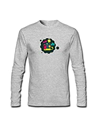 Boys Girls Long Sleeves T-shirts Tops For cartoon stration