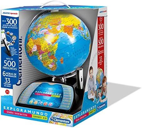 Clementoni Explora El Mundo-Globo Interactivo Premium, Multicolor, 55247, Versión en castellano: Amazon.es: Juguetes y juegos