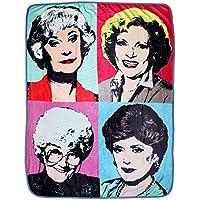 JUST FUNKY Golden Girls Themed Warhol Fleece Blanket...