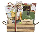 Spectacular Wine Country Gift Baskets Taste of Italy Gourmet Extravagant Christmas Gift Basket. Perfect For Holiday Gift Baskets, Family Gift Baskets, Corporate Gift Baskets and Birthday Gift Basket