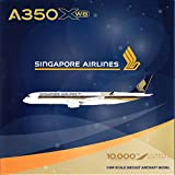 """JCW4857 1:400 JC Wings Singapore Airlines Airbus A350-900 """"10,000th Airbus Aircraft"""" Reg #9V-SMF (pre-painted/pre-built)"""