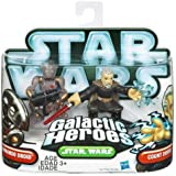 Star Wars Galactic Heroes Commando Droid and Count Dooku 2 Pack