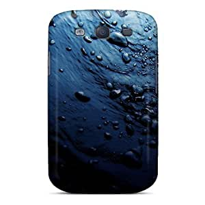 New Snap-on Jeffrehing Skin Case Cover Compatible With Galaxy S3- Blue Iphone 4 by icecream design