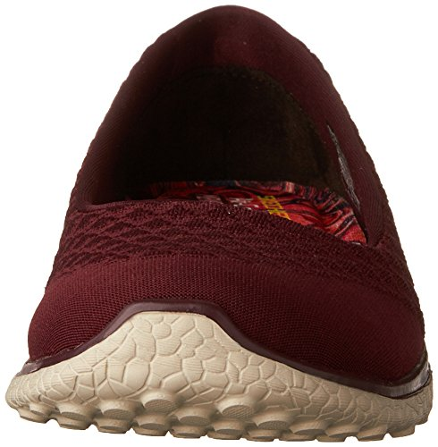 Skechers Damen Microburst-One up Sneaker Burgundy