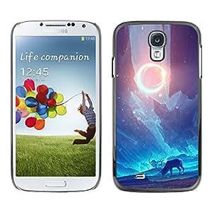 All Phone Most Case / Oferta Especial Duro Teléfono Inteligente PC Cáscara Funda Cubierta de proteccion Caso / Hard Case Samsung Galaxy S4 // Space Psychedelic Deer