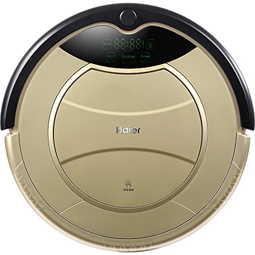 Haier SWR-T321 Pathfinder Vacuum Cleaner Robot Remote Control Self Charging Cleaning Devices (US PLUG, Gold) (Vacuum Cleaner Remote Control compare prices)