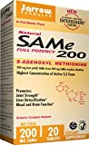 Jarrow Formulas Sam-e, Promotes Joint Strength, Liver Detoxification, 200mg, 20 Tabs For Sale