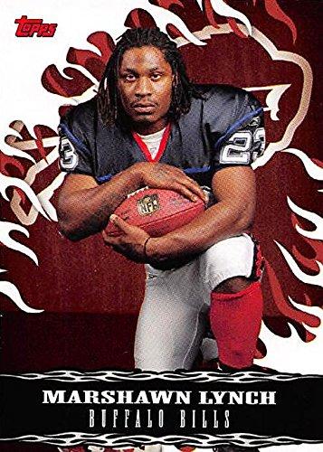 Marshawn Lynch Football Card (Buffalo Bills) 2007 Topps Walmart #5 Rookie ()