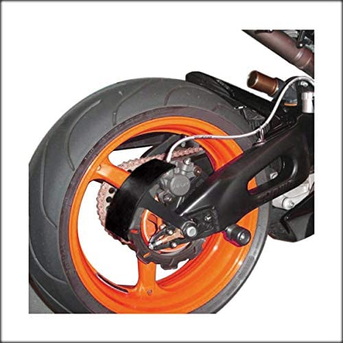 """Vertical License Plate Relocator for Kawasaki Ninja ZX 6R 10R 14R with 1/"""" Axle"""