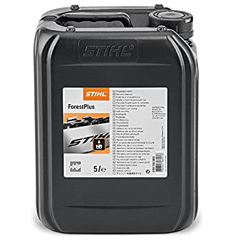 Stihl el aceite de motosierras Forest Plus 5 Liter: Amazon ...
