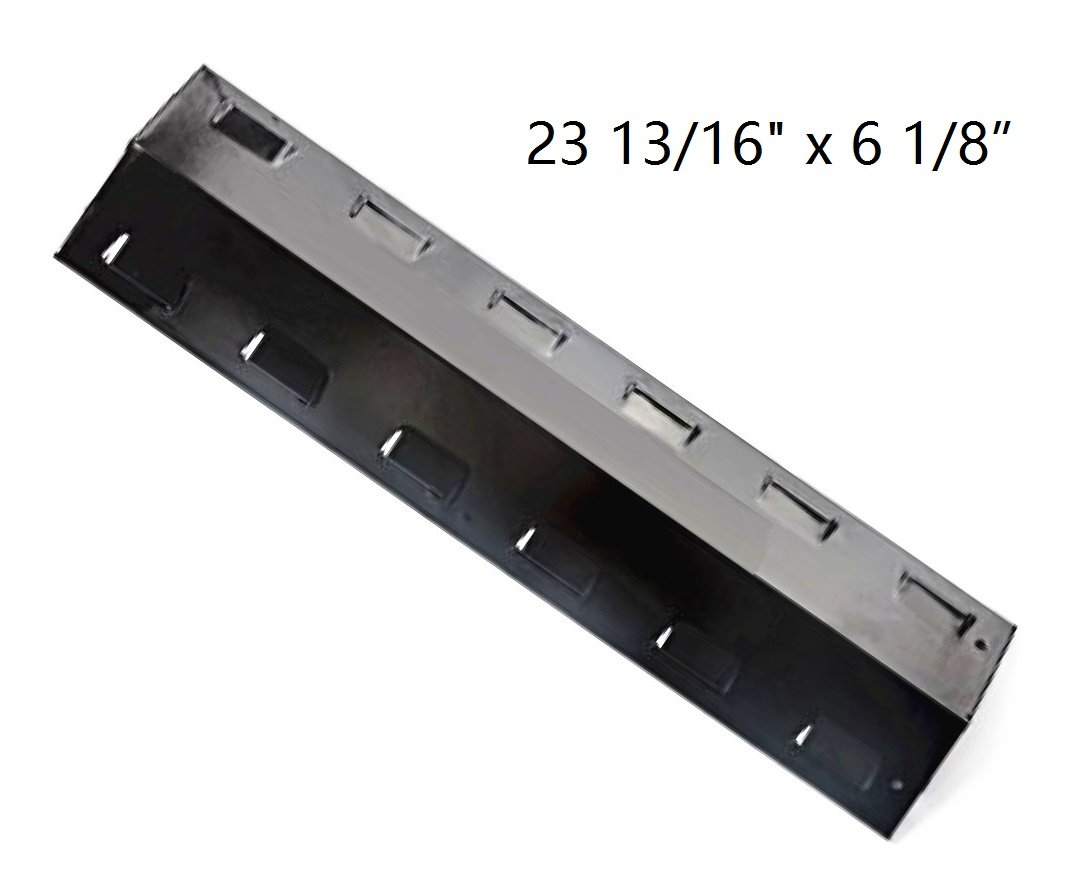 Hongso PPH401 Porcelain Steel Heat Plate, Heat Shield, Heat Tent, Burner Cover, Vaporizor Bar, and Flavorizer Bar Replacement for Select Gas Grill Models by Charbroil, Kenmore and Others