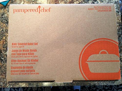 PAMPERED CHEF KIDS COVERED BAKER SET #1566 -