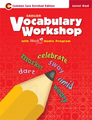 Vocabulary Workshop Level Red (2013)