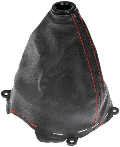 - Dorman 76802 Shift Boot Black Red Stich