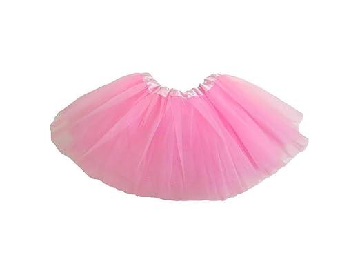 c146d679651f Fairy Princess UK Girls Tulle Ballet Tutu - One Size - (Baby Pink ...
