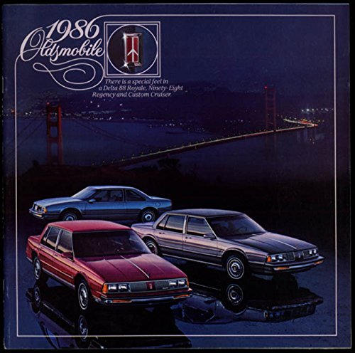 1986 Oldsmobile Delta 88 Royale Ninety-Eight Reegency & Custom Cruiser brochure ()