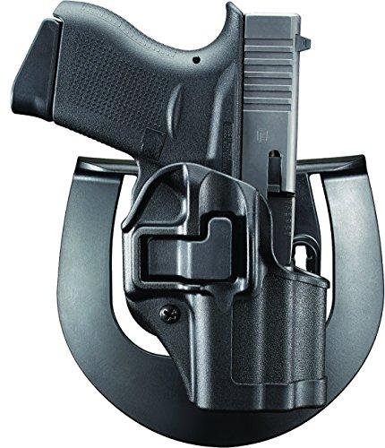 Blackhawk 410568BK-R Serpa CQC Concealment Holster for Glock 43, Matte Black