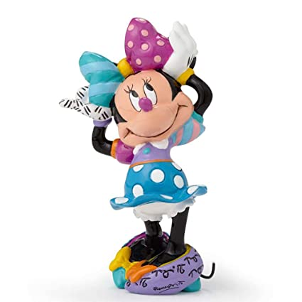 Amazoncom Disney By Britto Minnie Mouse Mini Stone Resin Figurine