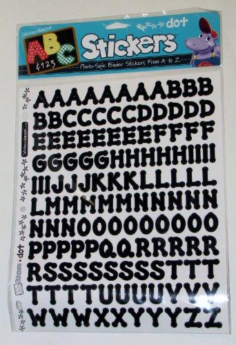 (Stickopotamus ABC & 123 Photo-Safe Binder Stickers (220))