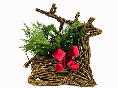 Southern Living Grapevine Deer w/ Greenery Christmas Thanksgiving Decor by Southern Living by Dillard's