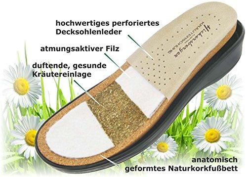 Hickersberger Kräuterschuhe - Zuecos para mujer - perle metallic